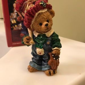 Other - Teddy Bear sculpted figurine.